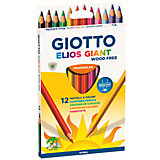 GIOTTO ELIOS GIANT 12 цв. TRIANGULAR woodfree