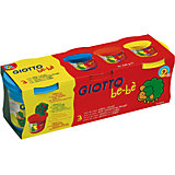 "Масса для лепки GIOTTO ""Be-Be"" Super Modeling Dough, 3 шт."