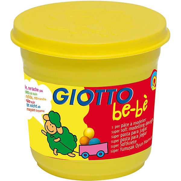 """Масса для лепки GIOTTO """"Be-Be"""" Super Modeling Dough, 3 шт."""