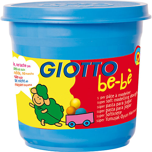 "Масса для лепки GIOTTO ""Be-Be"" Super Modeling Dough, 3 шт. от Giotto"
