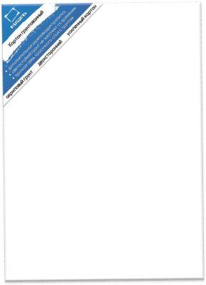 Картон грунтованный двухсторонний (40х50 см)