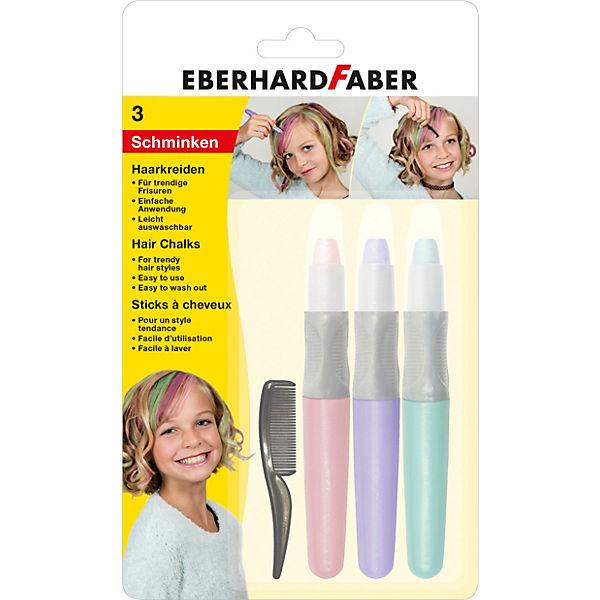 Haarkreide 4-tlg., Set Pearl, 4-tlg., Haarkreide Eberhard Faber 62900c