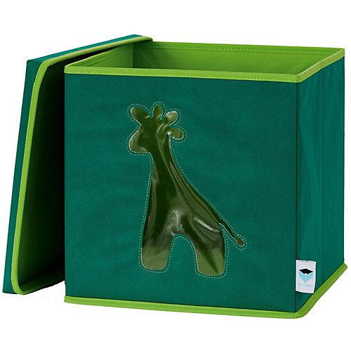 Коробка с крышкой для хранения Store it Жираф - темно-зеленый от STORE IT!