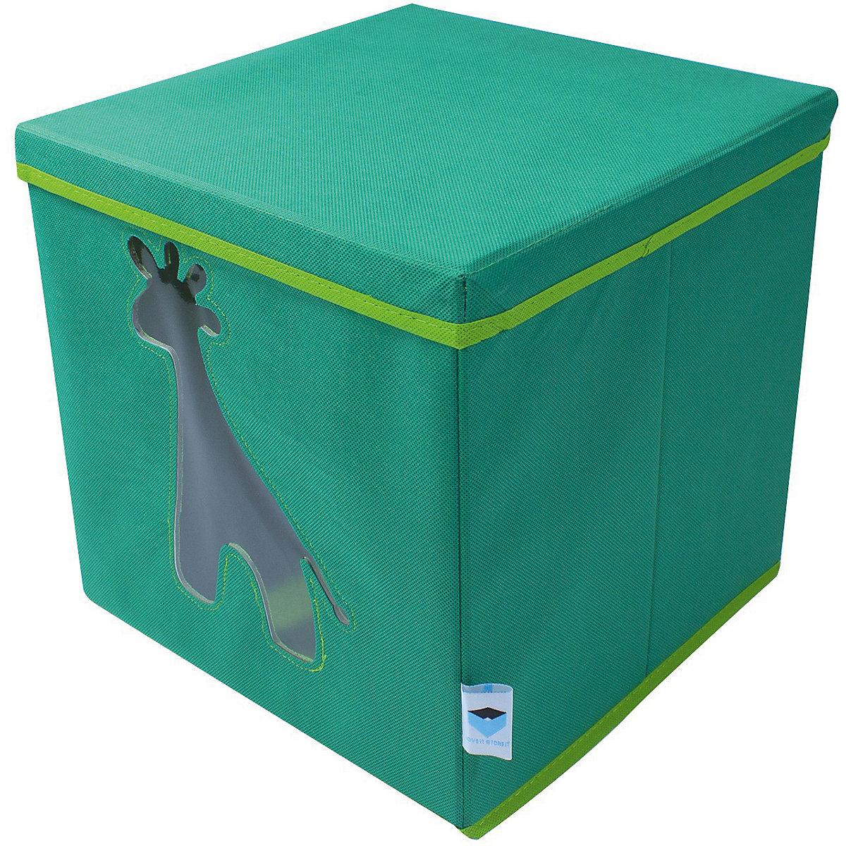 aufbewahrungsbox giraffe mit sichtfenster store it mytoys. Black Bedroom Furniture Sets. Home Design Ideas