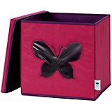 Коробка с крышкой для хранения Store it Бабочка