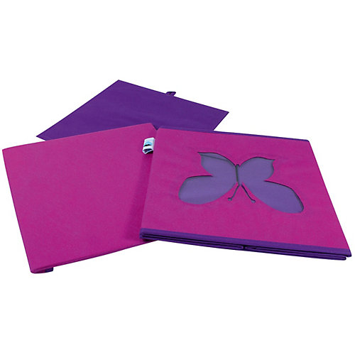 Коробка с крышкой для хранения Store it Бабочка - розовый от STORE IT!
