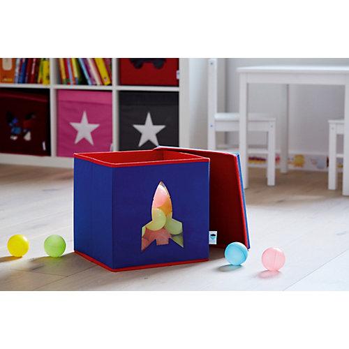 Коробка с крышкой для хранения Store it Ракета - темно-синий от STORE IT!