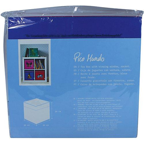 Коробка с крышкой для хранения Store it Ракета - темно-синий