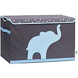 Большая коробка с крышкой для хранения Store it Слон