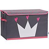 Большая коробка с крышкой для хранения Store it Корона