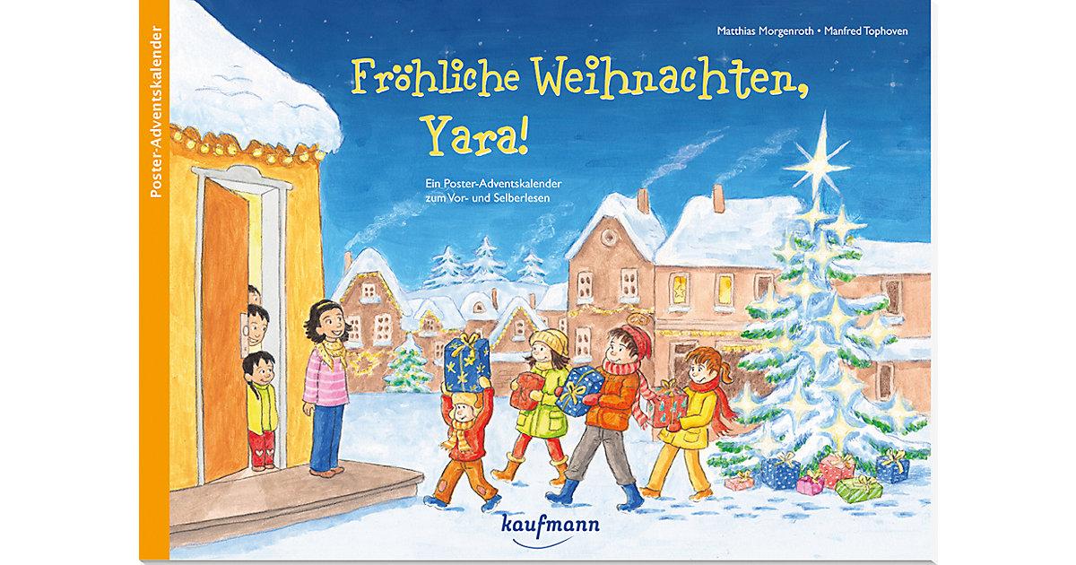 Fröhliche Weihnachten, Yara!, Adventskalender