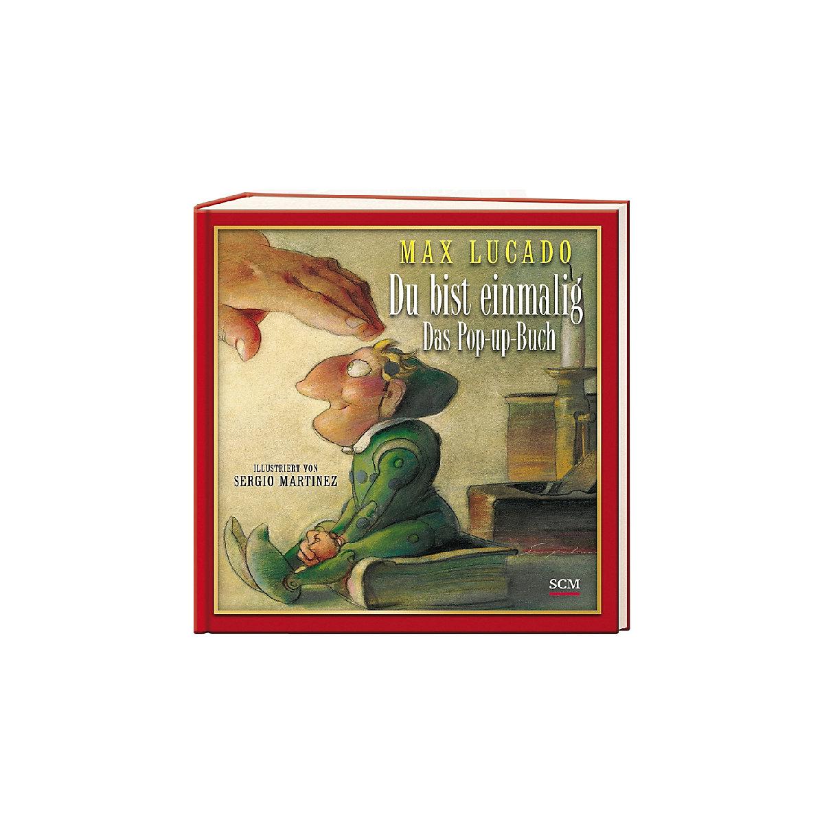 Du bist einmalig - Das Pop-up-Buch, Max Lucado   myToys