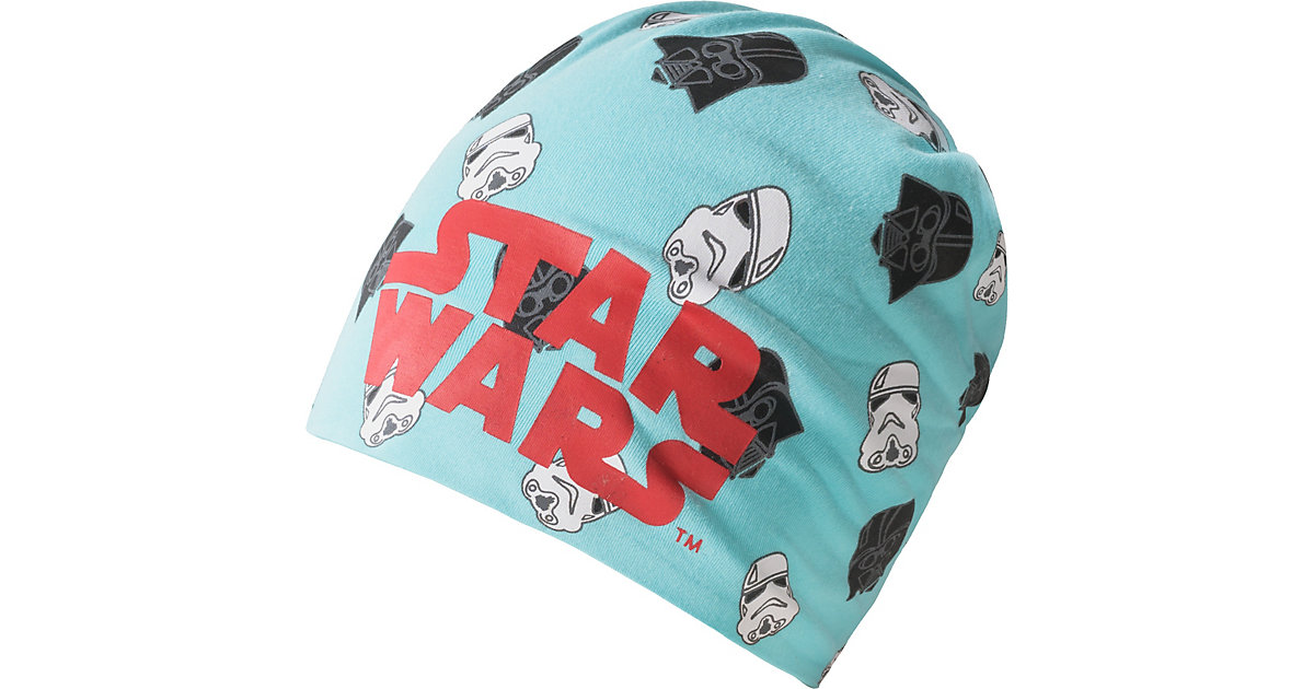 Star Wars Beanie  türkis Gr. 51 Jungen Kleinkinder