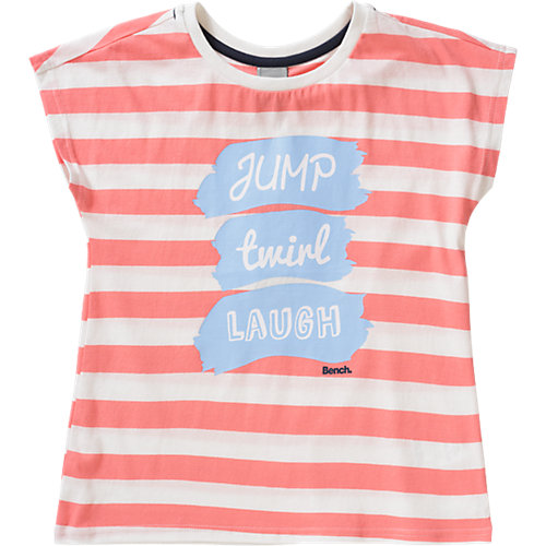 BENCH T-Shirt LAUGH Gr. 152 Mädchen Kinder | 05054577760381
