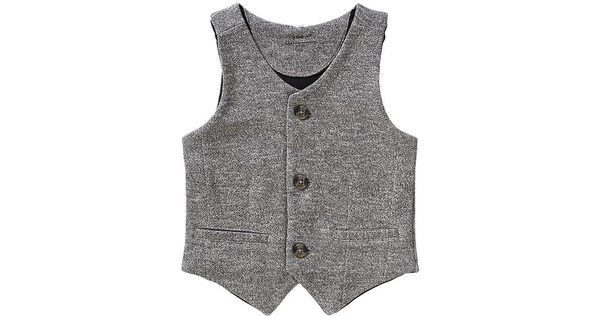 Kinder Anzugweste NITFINT aus Sweat, Organic Cotton Gr. 92 Jungen Kleinkinder