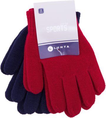 Перчатки Luhta для девочки - красный