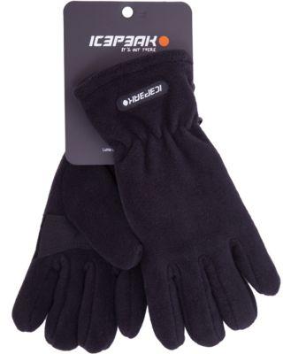 Перчатки в подарок ICEPEAK для мальчика - черный