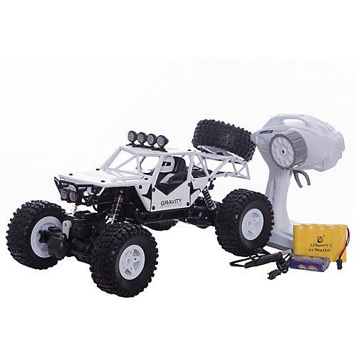"""Радиоуправляемая машинка Пламенный мотор """"Краулер-Багги ПМ-001"""", белая от Пламенный мотор"""