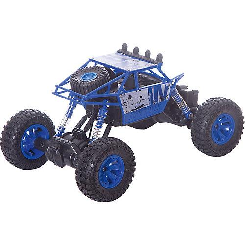 """Радиоуправляемая машинка Пламенный мотор """"Краулер-Багги ПМ-005"""", синяя от Пламенный мотор"""