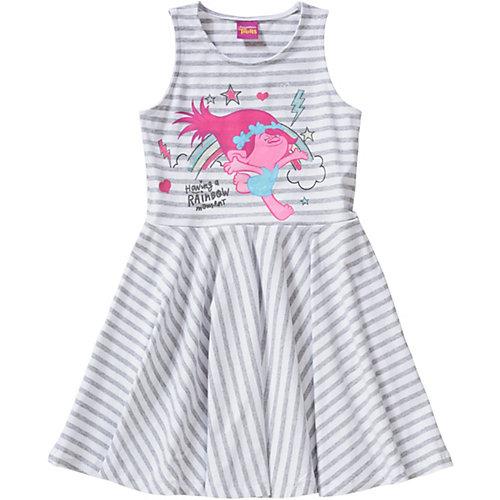 Trolls Kinder Jerseykleid Gr. 128/134 Mädchen Kinder   04022158412098