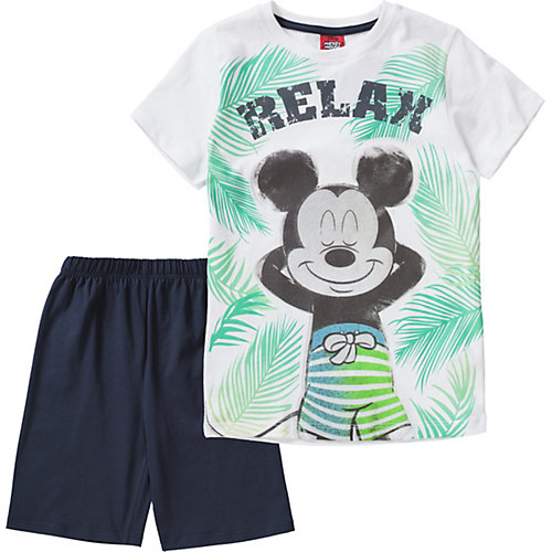 Disney Mickey Mouse & friends Schlafanzug Gr. 140/146 Jungen Kinder | 04022158415075
