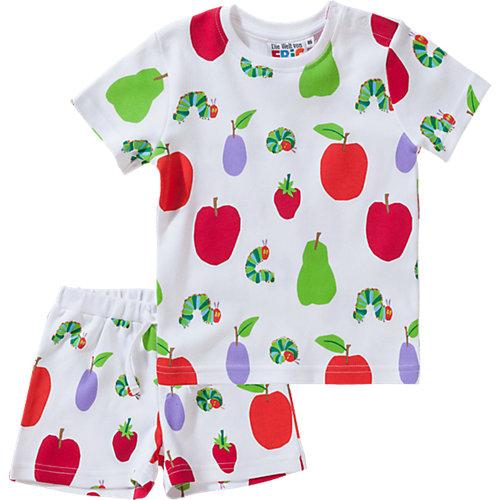 Raupe Nimmersatt Baby Schlafanzug Gr. 80 | 04049661559782