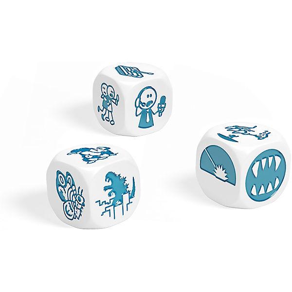 """Настольная игра Rory's Story Cubes Кубики историй """"Буйства"""" 3 кубика (доп. набор)"""