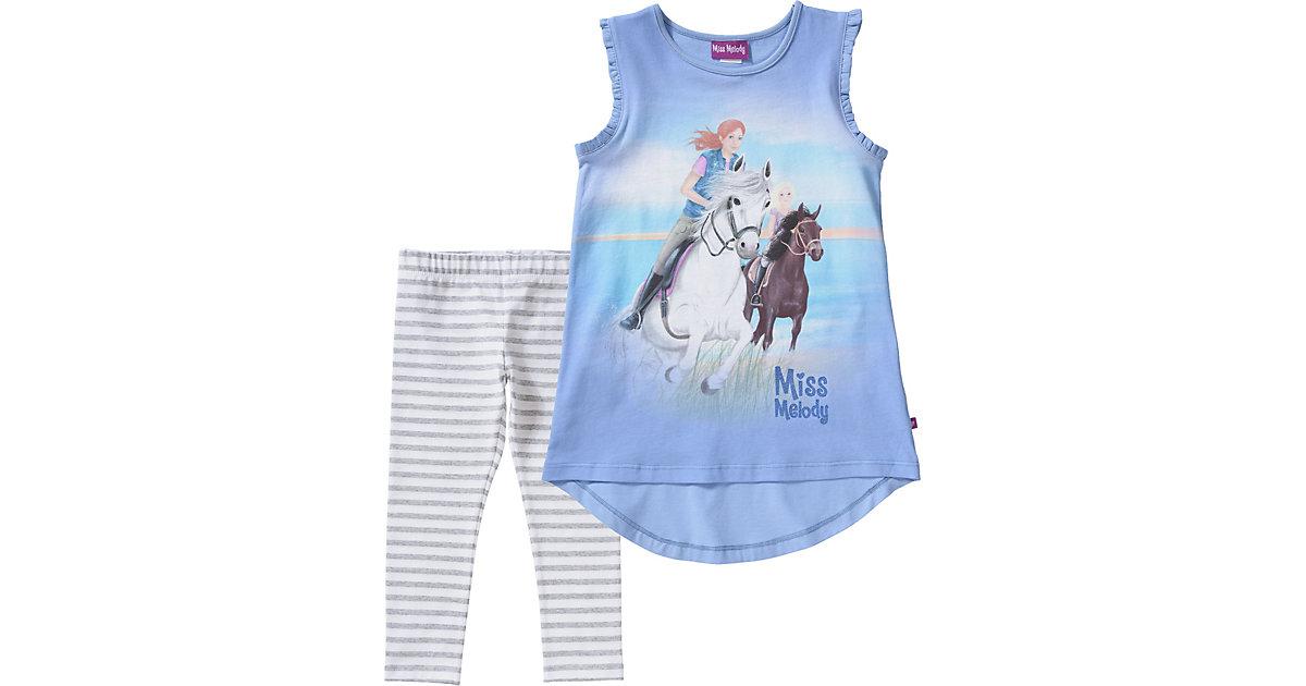 Miss Melody · Miss Melody Set Longshirt + Leggings Gr. 116/122 Mädchen Kinder