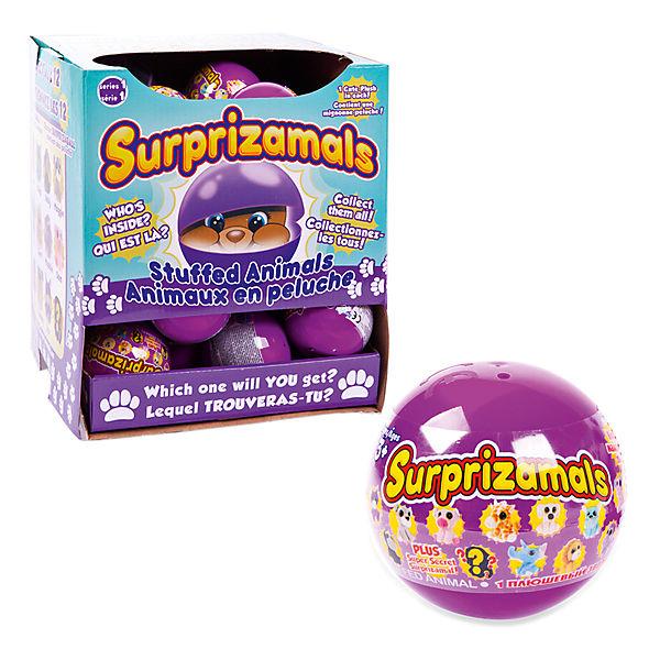 Мягкая игрушка Surprizamals в капсуле, серия 1