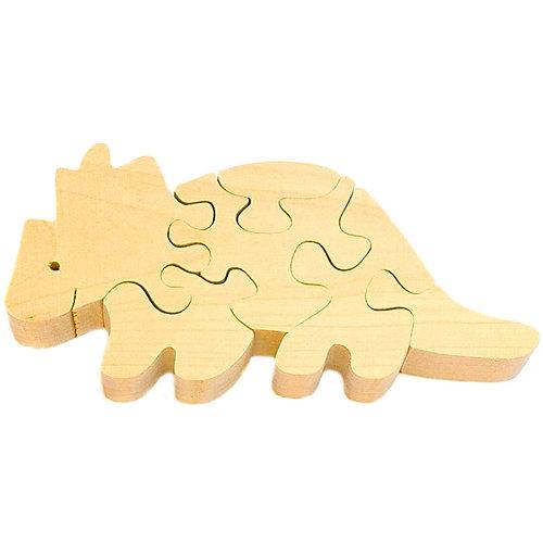 Развивающий пазл Бронтозавр 2 от Деревяшкино