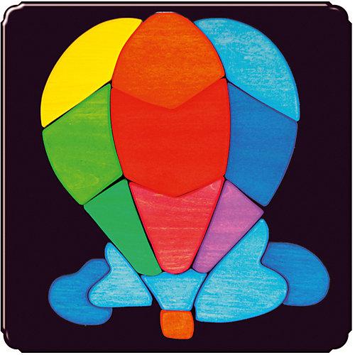 Магнитный пазл Воздушный шар от Деревяшкино