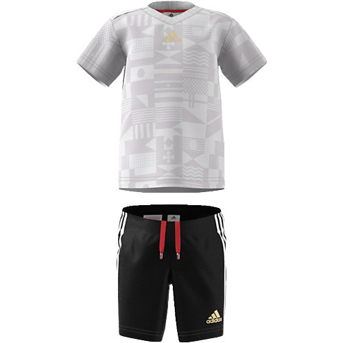 ADIDAS,ADIDAS PERFORMANCE Baby Sommer Set: T-Shirt + Shorts World Cup Gr. 80 Jungen Baby | 04059805580329