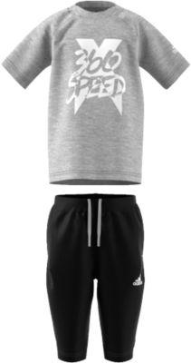 adidas jogginghose und t shirt