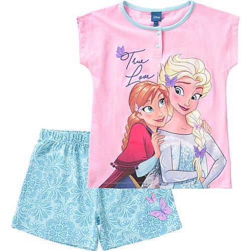 Disney Die Eiskönigin Schlafanzug Gr. 92/98 Mädchen Kleinkinder | 08058648128596