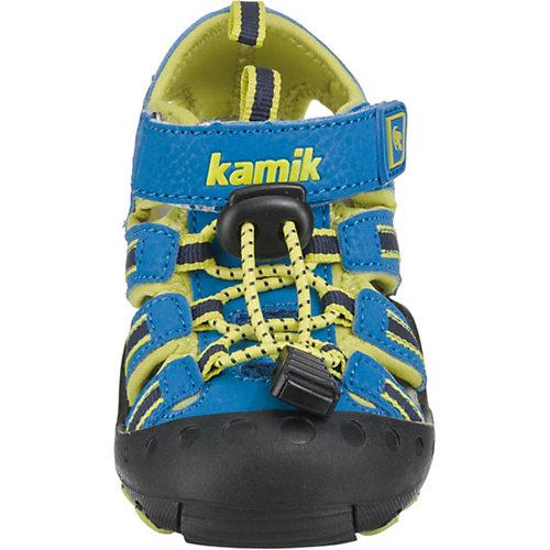 Сандалии Kamik Crab - сине-жёлтый от Kamik