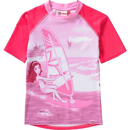 Schwimmanzug mit UV-Schutz Gr. 116 Mädchen Kinder | 05700067555523