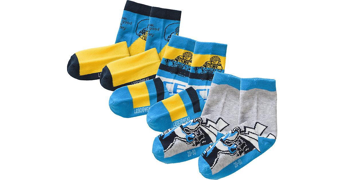 LEGO WEAR · Socken NEXO KNIGHTS im 3er-Pack Gr. 28-30 Jungen Kinder