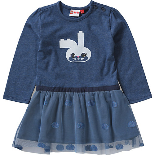 LEGO Jeseykleid mit Tüllrock Gr. 92 Mädchen Kleinkinder | 05700067522372
