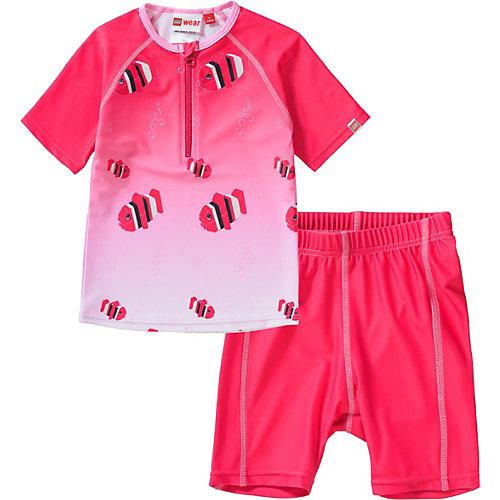 Schwimmanzug 2-teilig mit UV-Schutz Gr. 92 Mädchen Kleinkinder | 05700067555189