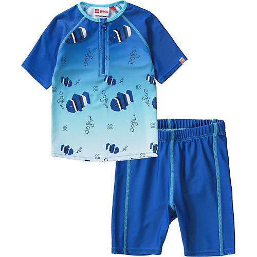 LEGO Schwimmanzug 2-teilig mit UV-Schutz Gr. 104 Jungen Kleinkinder | 05700067555684