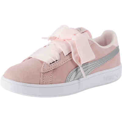 Baby Sneakers Suede Bow Dots AC INF für Mädchen, PUMA   myToys b1fc004d60