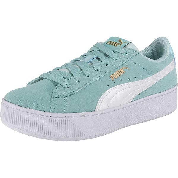 ff62819c31f815 Sneakers Puma Vikky Platform für Mädchen
