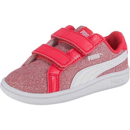 PUMA Baby Sneakers Puma Smash Glitz Glamm Gr. 27 Mädchen Kleinkinder