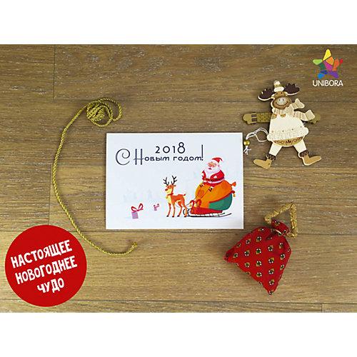 Волшебная новогодняя открытка от Unibora
