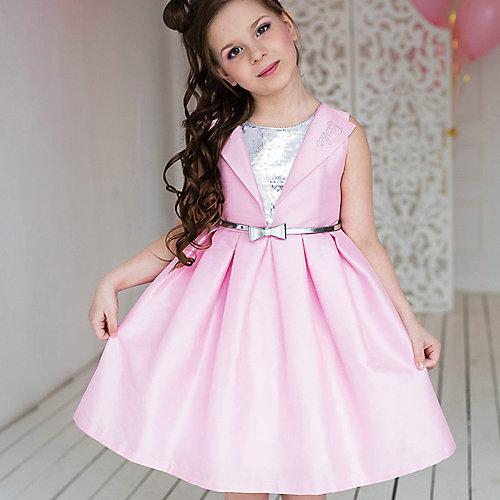 Нарядное платье Barbie - розовый/белый от Barbie