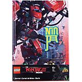 Книга для записей (96 листов, линейка) с резинкой LEGO Ninjago Movie (Лего Фильм: Ниндзяго)-Kai