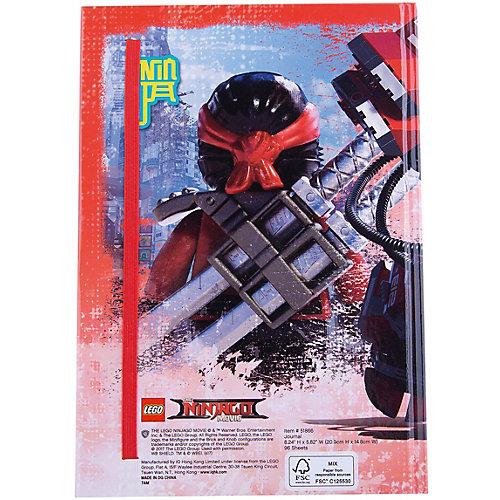 Книга для записей (96 листов, линейка) с резинкой LEGO Ninjago Movie (Лего Фильм: Ниндзяго)-Kai от LEGO