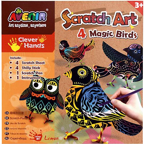 """Набор для гравюры """"Волшебные птички"""" от Avenir"""