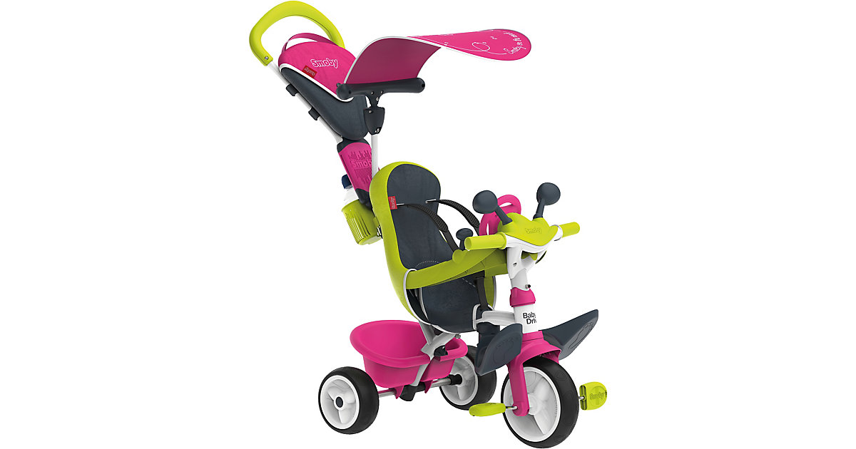 SMOBY · Smoby - Dreirad Baby Driver Komfort, pink