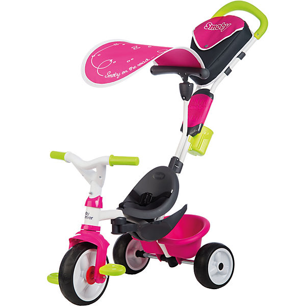 Dreirad Baby Smoby Driver Komfort, rosa, Smoby Baby 7ac2f0